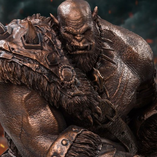 [20.4분기 발매예정]Damtoys Orgrim (Imitation Bronze) Statue