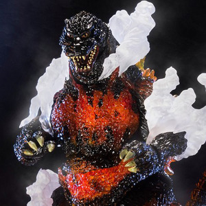 반다이 S.H.MonsterArts 고질라(1995) Ultimate Burning Ver.(혼웹한정)