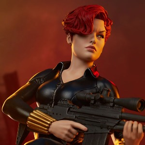 Sideshow Collectibles Black Widow Statue