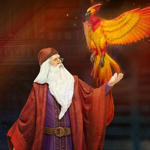 [20.2분기 발매예정]Enesco, LLC Dumbledore with Fawkes Figurine