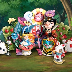[20.1분기 발매예정]Enesco, LLC Alice in Wonderland (Deluxe) Collectible Set