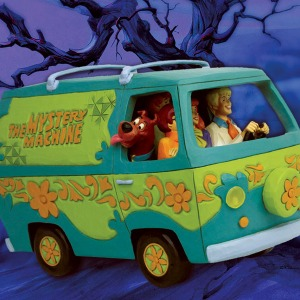 [20.1분기 발매예정]Enesco, LLC Scooby-Doo Mystery Machine Figurine