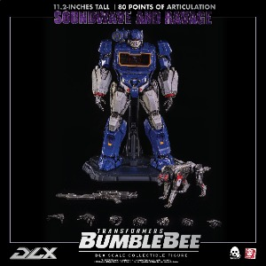 Hasbro x Threezero Presents DLX SOUNDWAVE AND RAVAGE (Transformers BUMBLEBEE DLX Collectible Series)