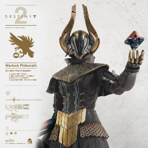 [20.4분기 발매예정]Threezero 1/6 DESTINY 2 – WARLOCK Philomath GOLDEN TRACE SHADER